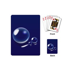 Bubbles 7 Playing Cards (Mini)