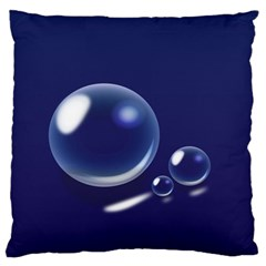 Bubbles 7 Large Cushion Case (single Sided)