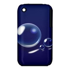 Bubbles 7 Apple Iphone 3g/3gs Hardshell Case (pc+silicone)