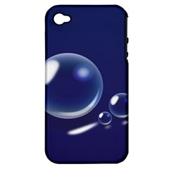 Bubbles 7 Apple iPhone 4/4S Hardshell Case (PC+Silicone)