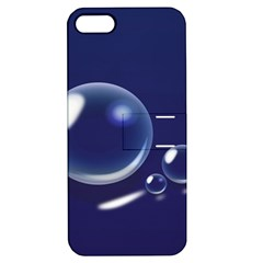 Bubbles 7 Apple Iphone 5 Hardshell Case With Stand