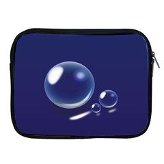 Bubbles 7 Apple iPad Zippered Sleeve