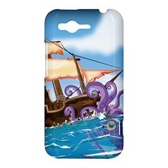 PiratePirate Ship Attacked By Giant Squid  HTC Rhyme Hardshell Case