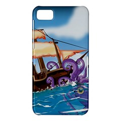 PiratePirate Ship Attacked By Giant Squid  BlackBerry Z10 Hardshell Case