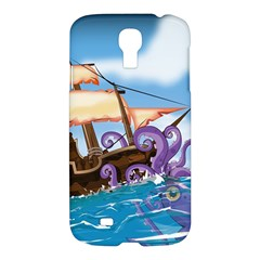PiratePirate Ship Attacked By Giant Squid  Samsung Galaxy S4 I9500/I9505 Hardshell Case