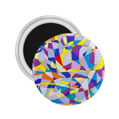 Fractured Facade 2.25  Button Magnet