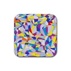 Fractured Facade Drink Coasters 4 Pack (Square)