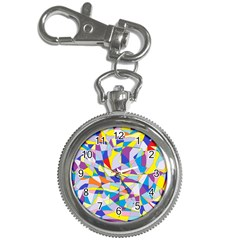 Fractured Facade Key Chain Watch