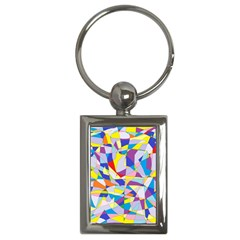 Fractured Facade Key Chain (Rectangle)