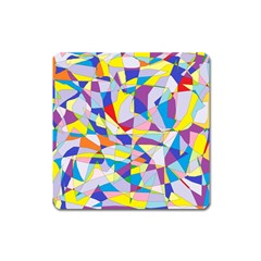 Fractured Facade Magnet (Square)