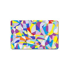 Fractured Facade Magnet (Name Card)