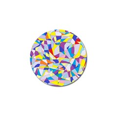Fractured Facade Golf Ball Marker 4 Pack