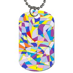 Fractured Facade Dog Tag (Two-sided)