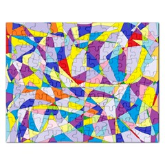 Fractured Facade Jigsaw Puzzle (rectangle)