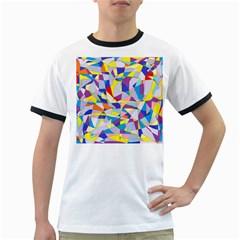 Fractured Facade Men s Ringer T-shirt