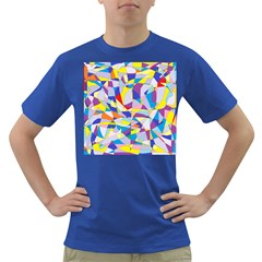 Fractured Facade Men s T-shirt (Colored)