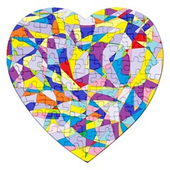 Fractured Facade Jigsaw Puzzle (heart)