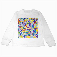 Fractured Facade Kids Long Sleeve T-Shirt