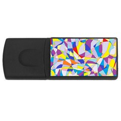 Fractured Facade 4GB USB Flash Drive (Rectangle)