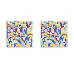 Fractured Facade Cufflinks (Square)