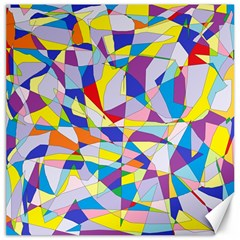 Fractured Facade Canvas 16  x 16  (Unframed)