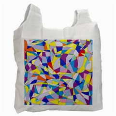 Fractured Facade Recycle Bag (Two Sides)