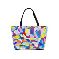 Fractured Facade Large Shoulder Bag