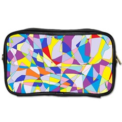 Fractured Facade Travel Toiletry Bag (Two Sides)