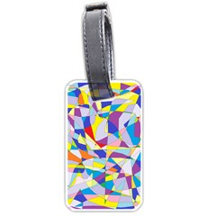 Fractured Facade Luggage Tag (One Side)