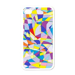 Fractured Facade Apple iPhone 4 Case (White)