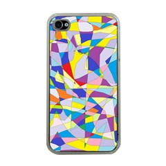 Fractured Facade Apple Iphone 4 Case (clear)
