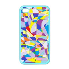 Fractured Facade Apple Iphone 4 Case (color)
