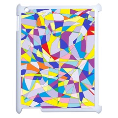 Fractured Facade Apple iPad 2 Case (White)