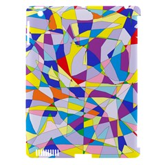 Fractured Facade Apple iPad 3/4 Hardshell Case (Compatible with Smart Cover)
