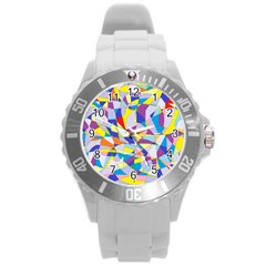 Fractured Facade Plastic Sport Watch (Large)