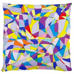 Fractured Facade Large Cushion Case (Two Sided)