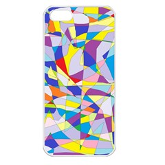 Fractured Facade Apple Iphone 5 Seamless Case (white)