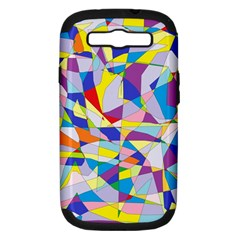 Fractured Facade Samsung Galaxy S Iii Hardshell Case (pc+silicone)