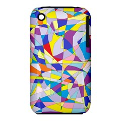 Fractured Facade Apple Iphone 3g/3gs Hardshell Case (pc+silicone)