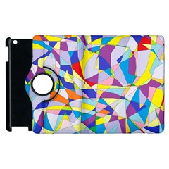 Fractured Facade Apple iPad 3/4 Flip 360 Case