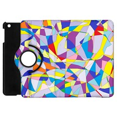 Fractured Facade Apple iPad Mini Flip 360 Case