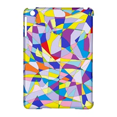 Fractured Facade Apple Ipad Mini Hardshell Case (compatible With Smart Cover)