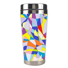 Fractured Facade Stainless Steel Travel Tumbler