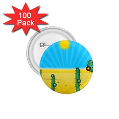Cactus 1 75  Button (100 Pack)