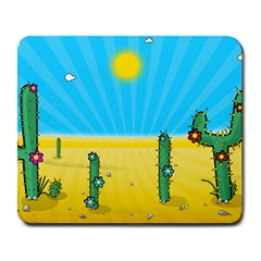 Cactus Large Mouse Pad (Rectangle)