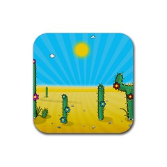 Cactus Drink Coasters 4 Pack (square)