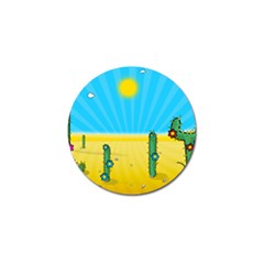 Cactus Golf Ball Marker 4 Pack