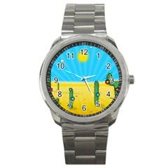 Cactus Sport Metal Watch