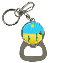 Cactus Bottle Opener Key Chain