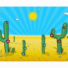 Cactus Canvas 16  x 20  (Unframed)